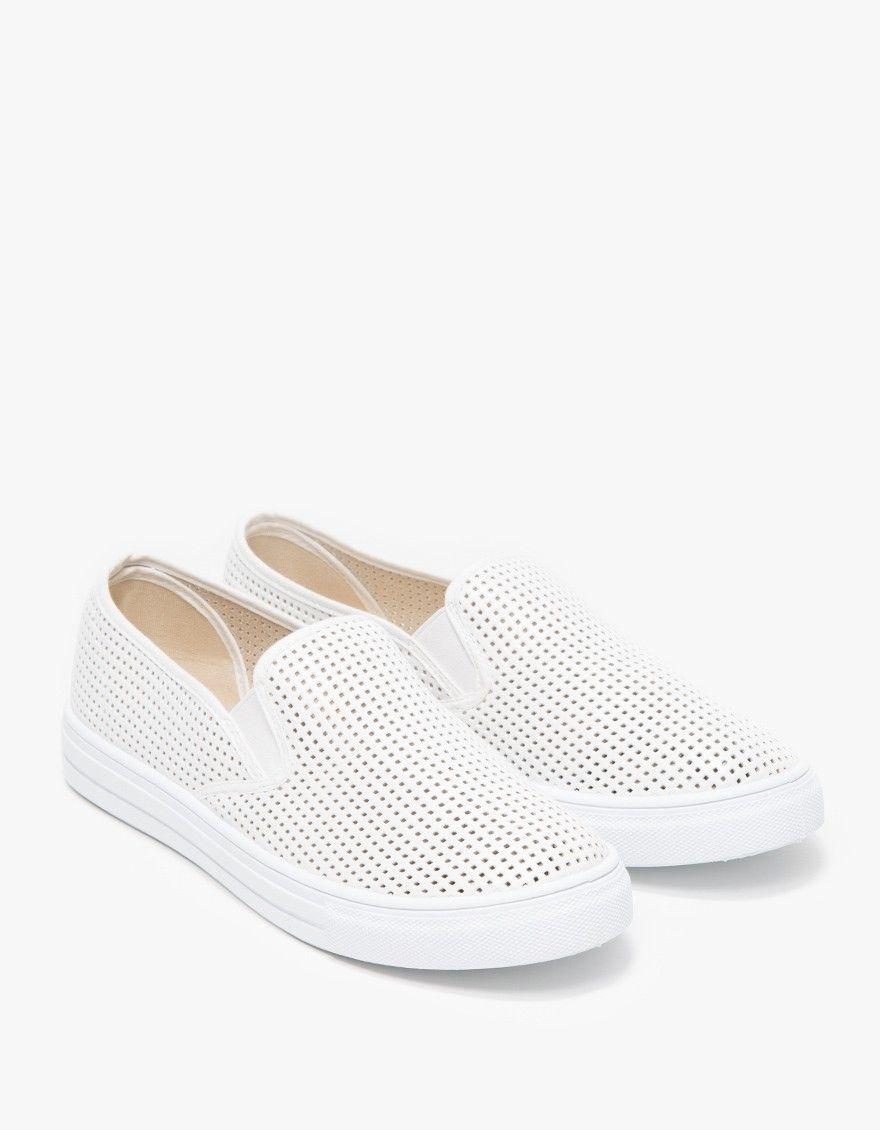 Brooks Slip-ons in White | Slip on