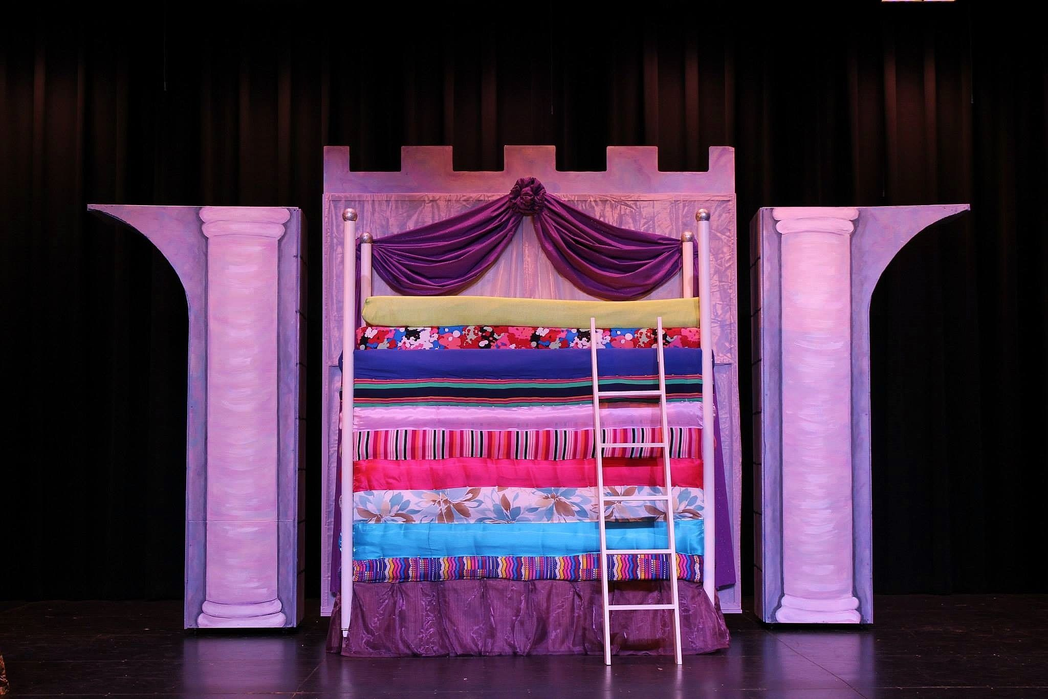 From Give 39 Em Props Studio A Bed Fit For A Princess In Once Upon A Mattress Jr Theatre Set