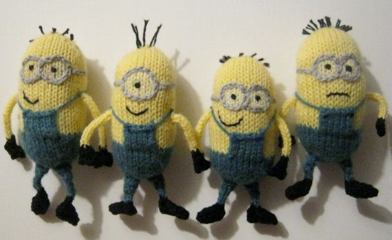 Pdf Pattern For Knitted Despicable Me Minions Patterns Knitting