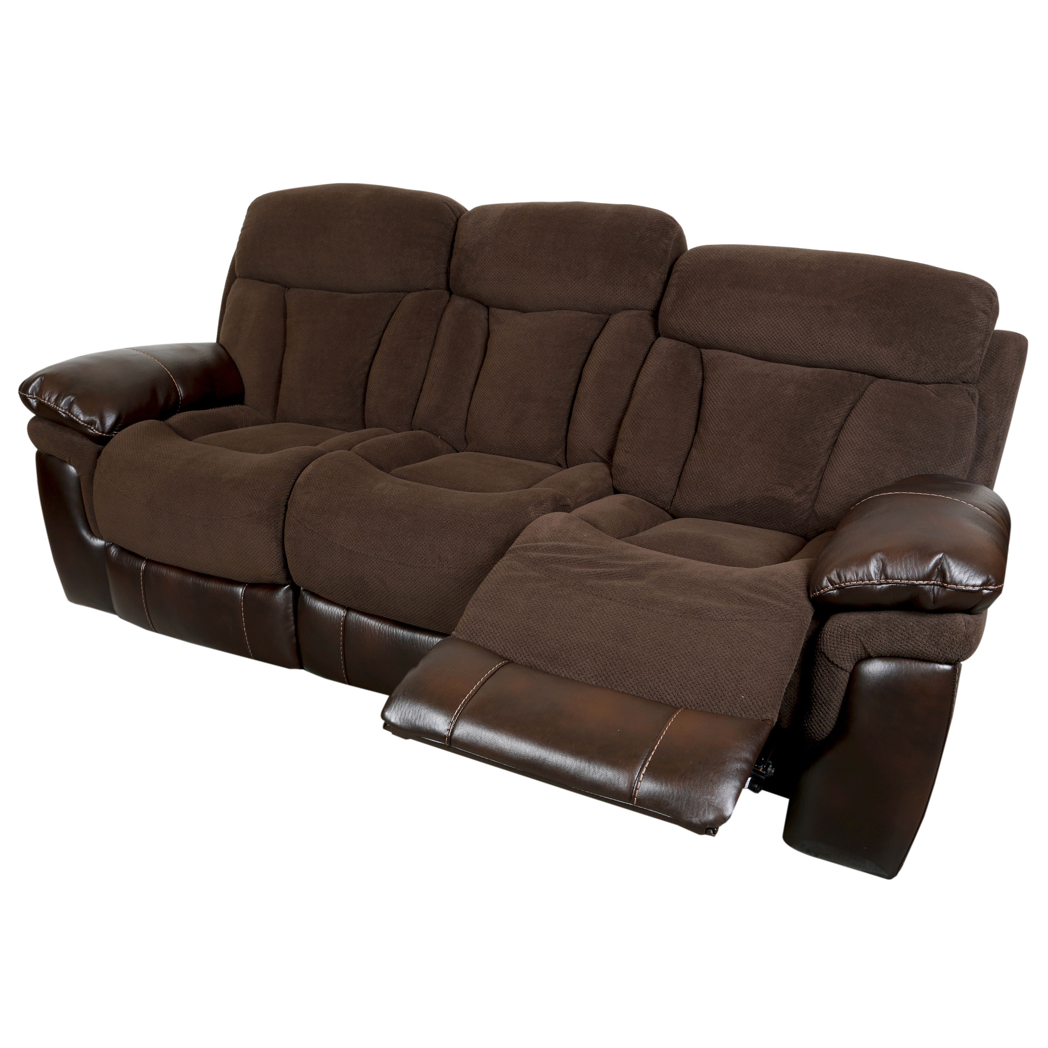 microfiber sofa and loveseat recliner sofas sets on sale porter buck chocolate faux leather dual