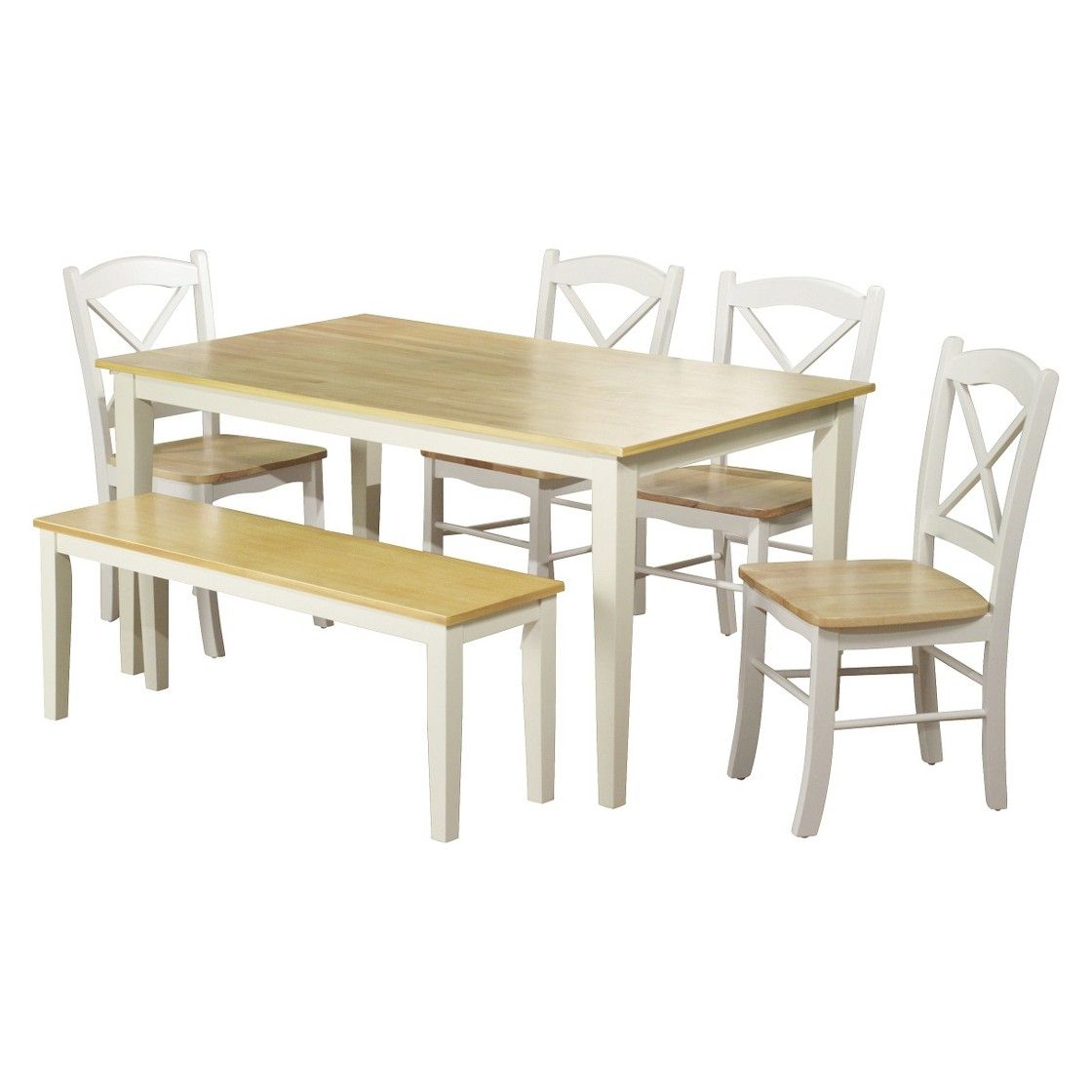 Tiffany 3 Pc Dining Table Set White Table Dining Dining Table