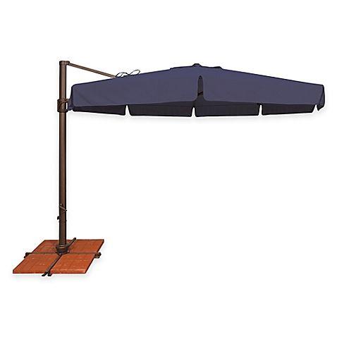 Simplyshade Bali 11 Foot Octagon Cantilever Umbrella In Sunbrella Fabric Offset Patio Umbrella Patio Umbrella Cantilever Umbrella