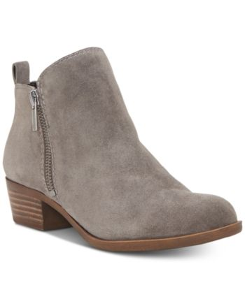 Lucky Brand Women's Basel Leather Booties  & Reviews - Boots - Shoes - Macy's #booties