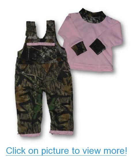 Mossy Oak Camo Baby Girl Skirt Overalls Dress Toddler Camouflage