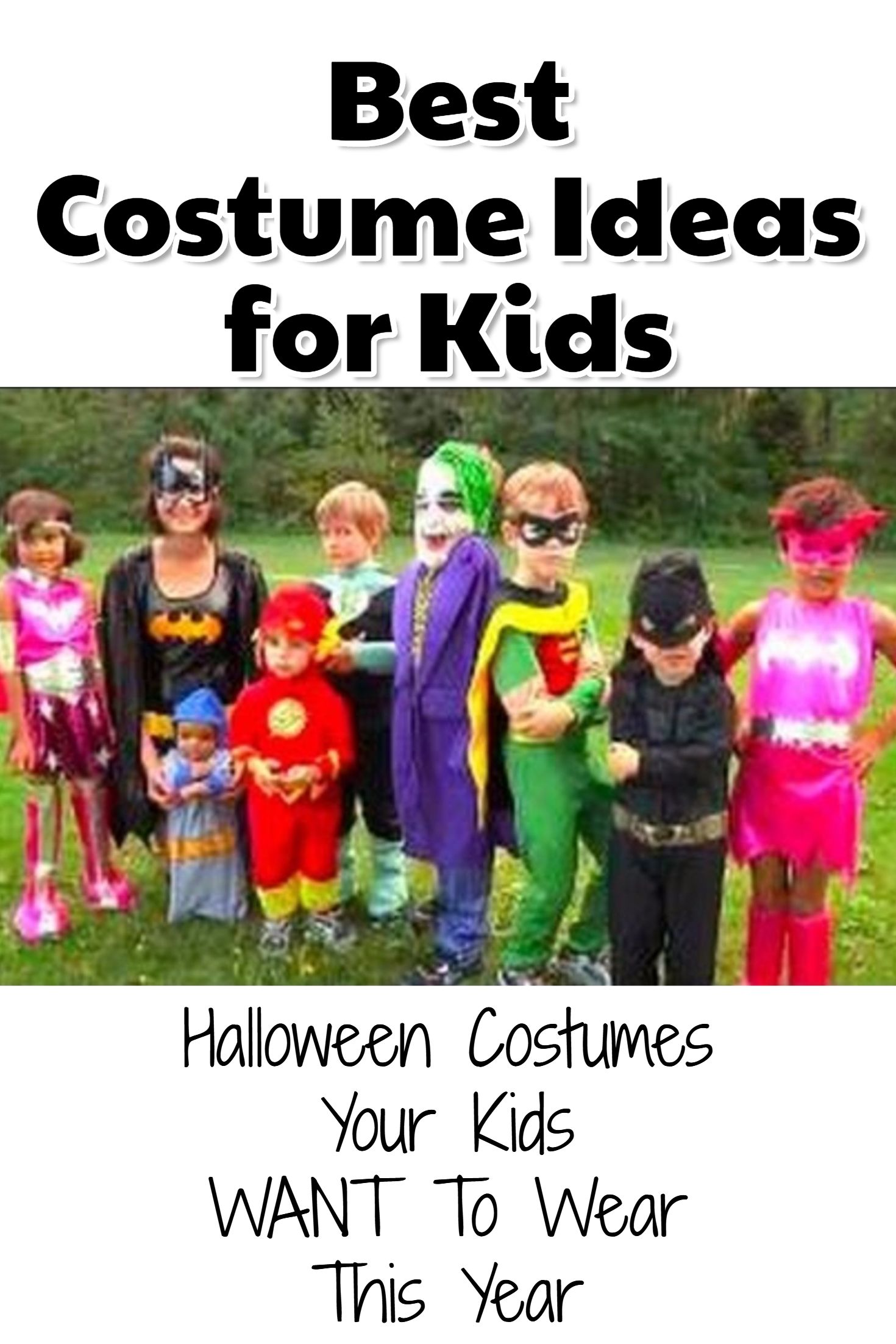 2020 Most Popular Childrens Halloween Costumes Most Popular Kid's Halloween Costumes for Halloween 2020 (CUTE