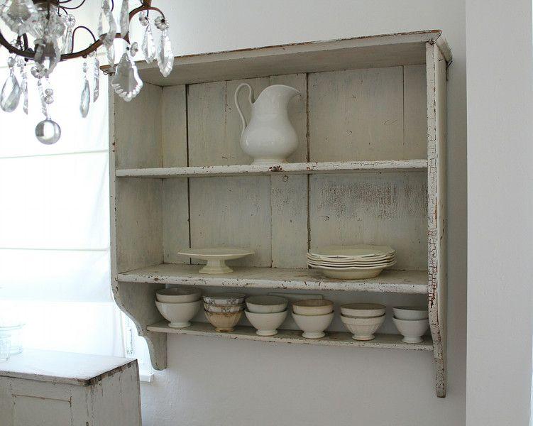 Alte küchenregale ~ Stühle imposantes altes küchenregal mit altem lack ein