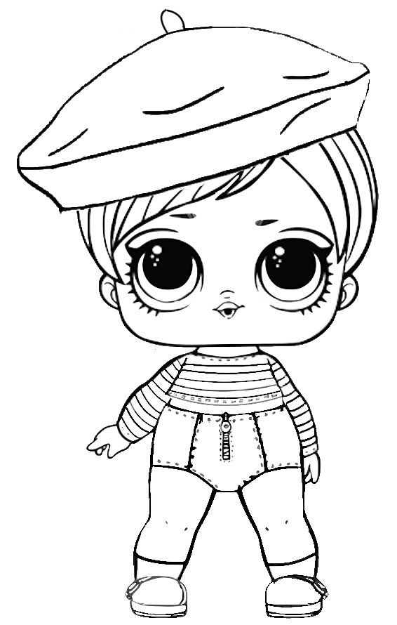 Lol Dolls Coloring Pages Best Coloring Pages For Kids Lol Dolls Coloring Pages Cute Coloring Pages