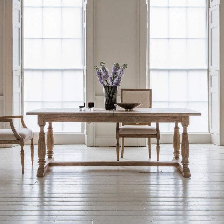 Newhaven Parquetry Extension Dining Table Extension Dining Table