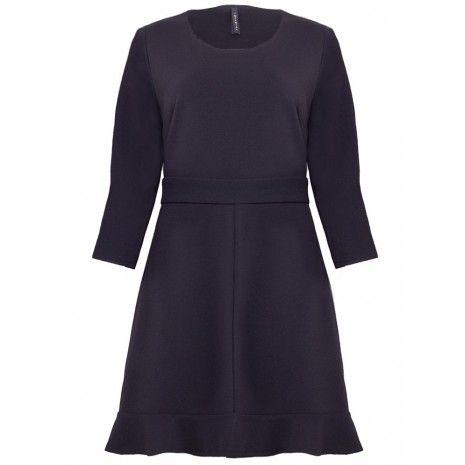 935accc538a Базовое черное платье IMPERIAL A9990159G купить в Киеве. Женские платья от  итальянского бренда IMPERIAL