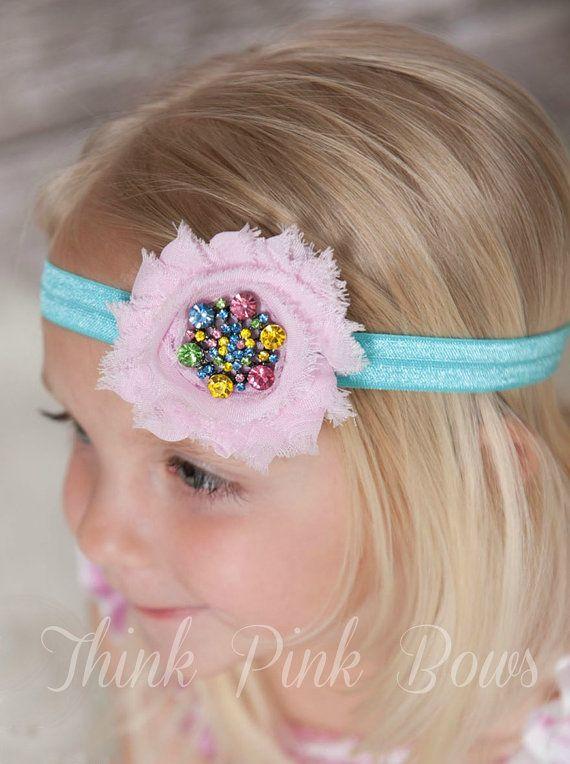 how to make newborn girl headbands