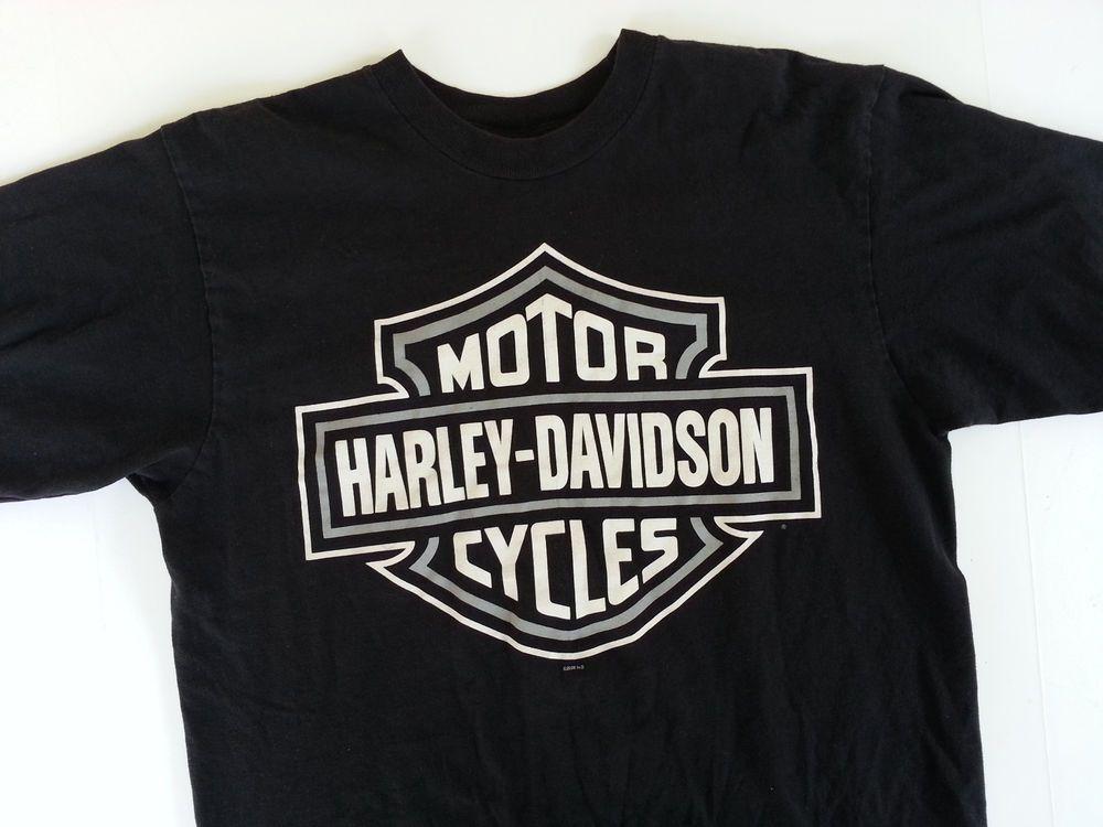 Men S L Harley Davidson T Shirt Mansfield Prison Hales A Room With A View Cell Harleydavidson Graphictee Harley Davidson T Shirts Harley Davidson Harley