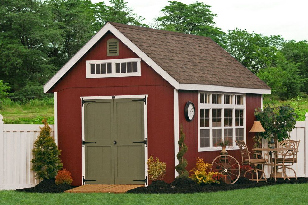 Shed Designs Decorating Ideas For Garage And Shed 400 x 300