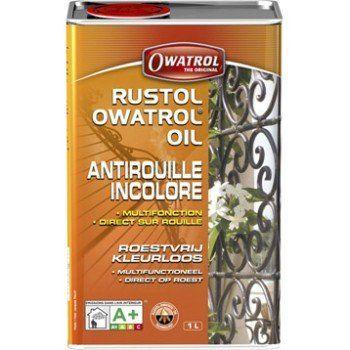 Protection antirouille extérieur intérieur Rustol OWATROL, incolore