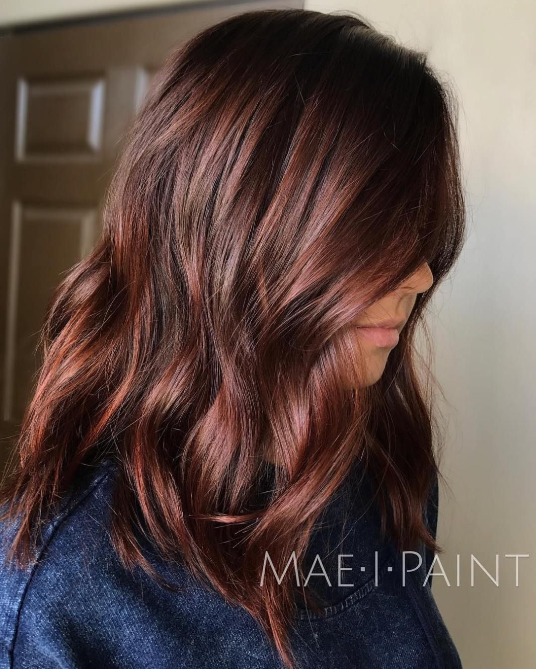 60 auburn hair colors to emphasize your individuality | coiffures