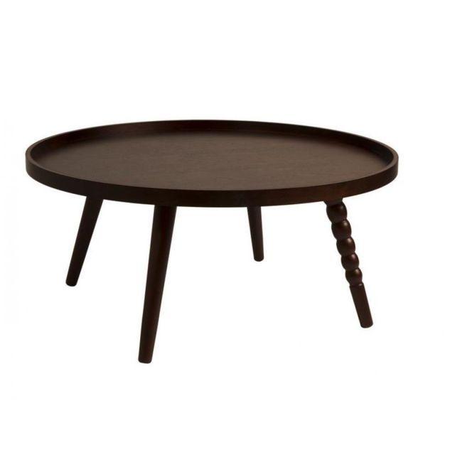 inside 75 table basse arabica de dutchbone 78 x 35 cm noyer - Inside75 Table Basse