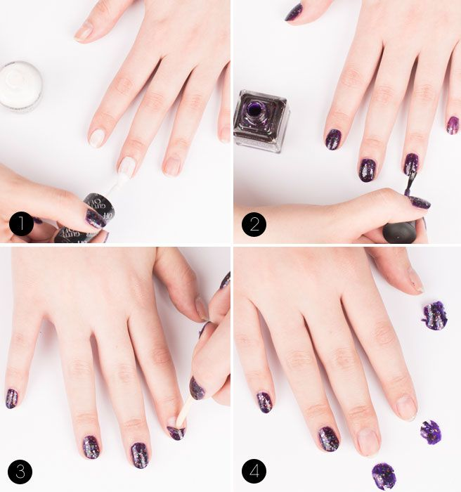 How To Remove Glitter Nail Polish For Good