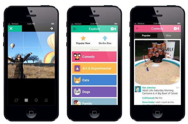 Vine Responds To Instagram With A Big Update Old video