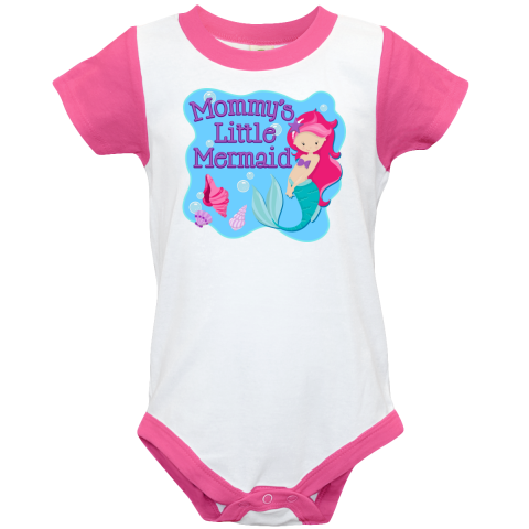 inktastic Mommys Little Mermaid Toddler T-Shirt