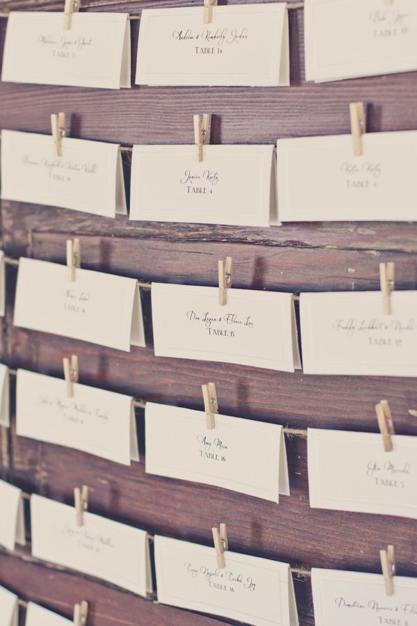 Love these place cards!