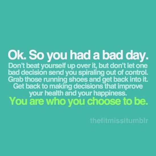 Everyone Has Bad Days Fitness Motivation Quotes Health Motivation Fitness Quotes