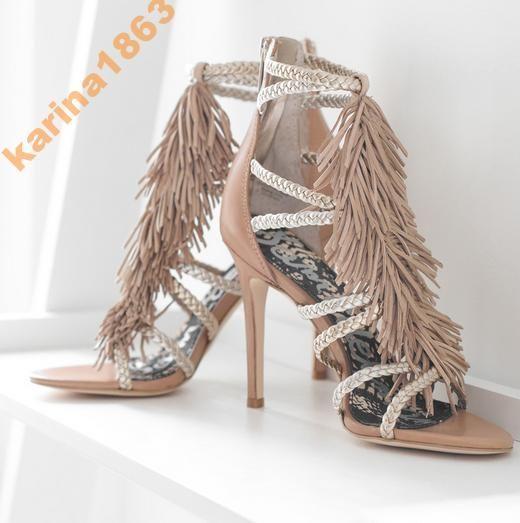 Sam Edelman Savannah Sandalki Z Fredzlami Z Usa 5638829805 Oficjalne Archiwum Allegro Fringe Shoes Fringe Sandals Fabulous Shoes