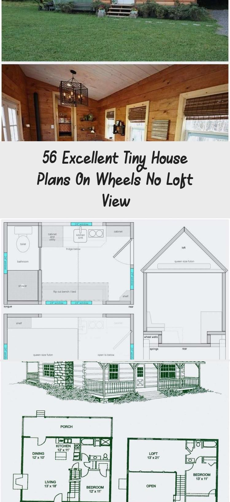 Floor House Loft Luxury Open Plan Plans Small Tiny Tinyhomesonwheelsnolo In 2020 Modern House Plans Open Floor Small House Open Floor Plan Modern House Plans