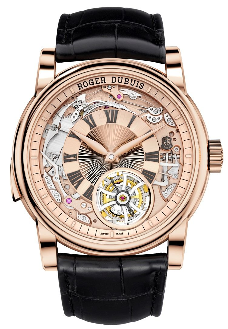Manufacture Roger Dubuis Hommage Rptition Minutes Ho45 104 Jam Tangan Couple Swiss Army Sa Daydate Rom Rantai Black Rose