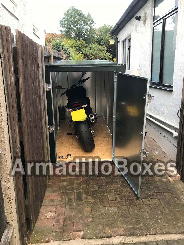 Motorcycle storage & Motorcycle storage | Motorcycle storage unit | Pinterest | Easy ...