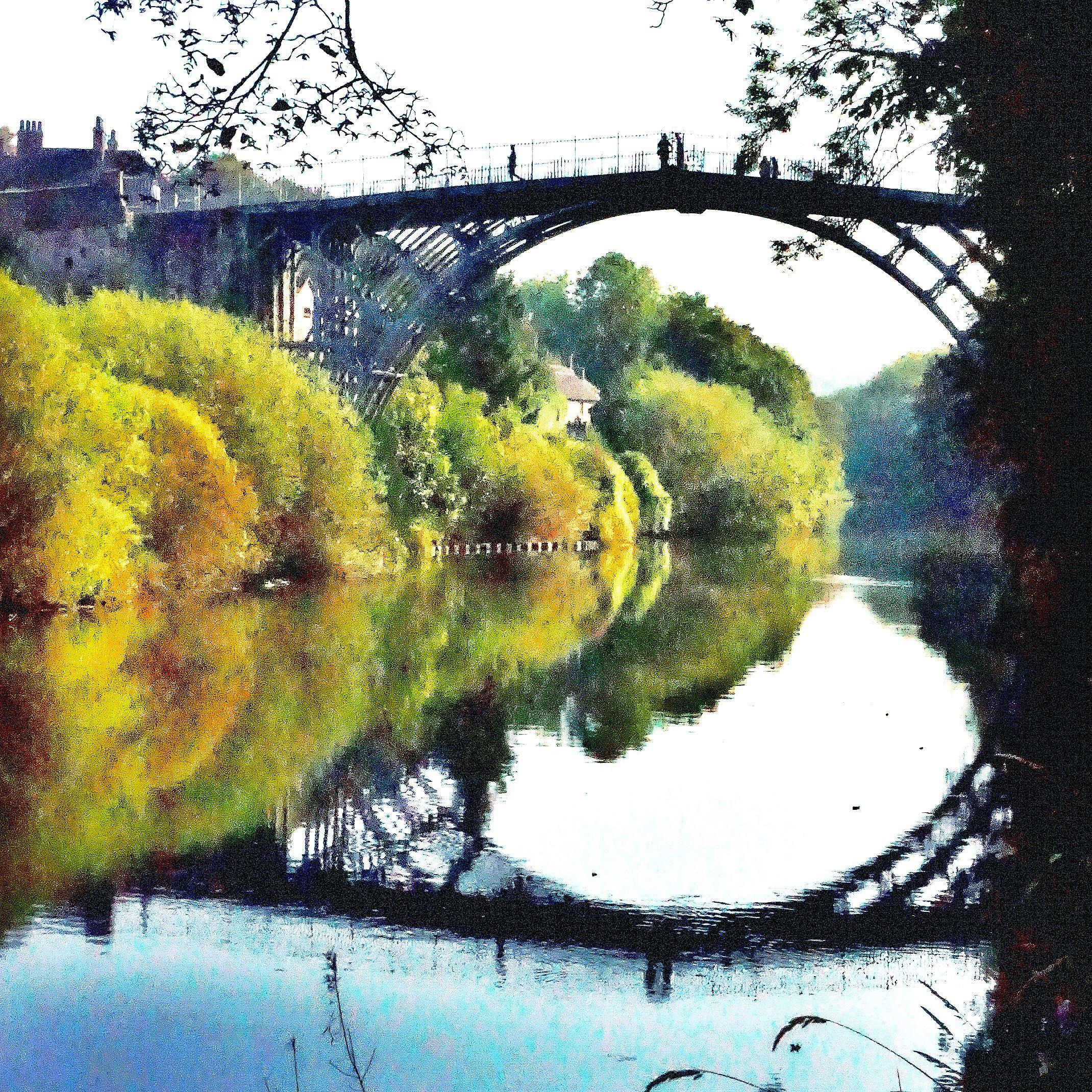 Ironbridge...birthplace of the industrial revolution.