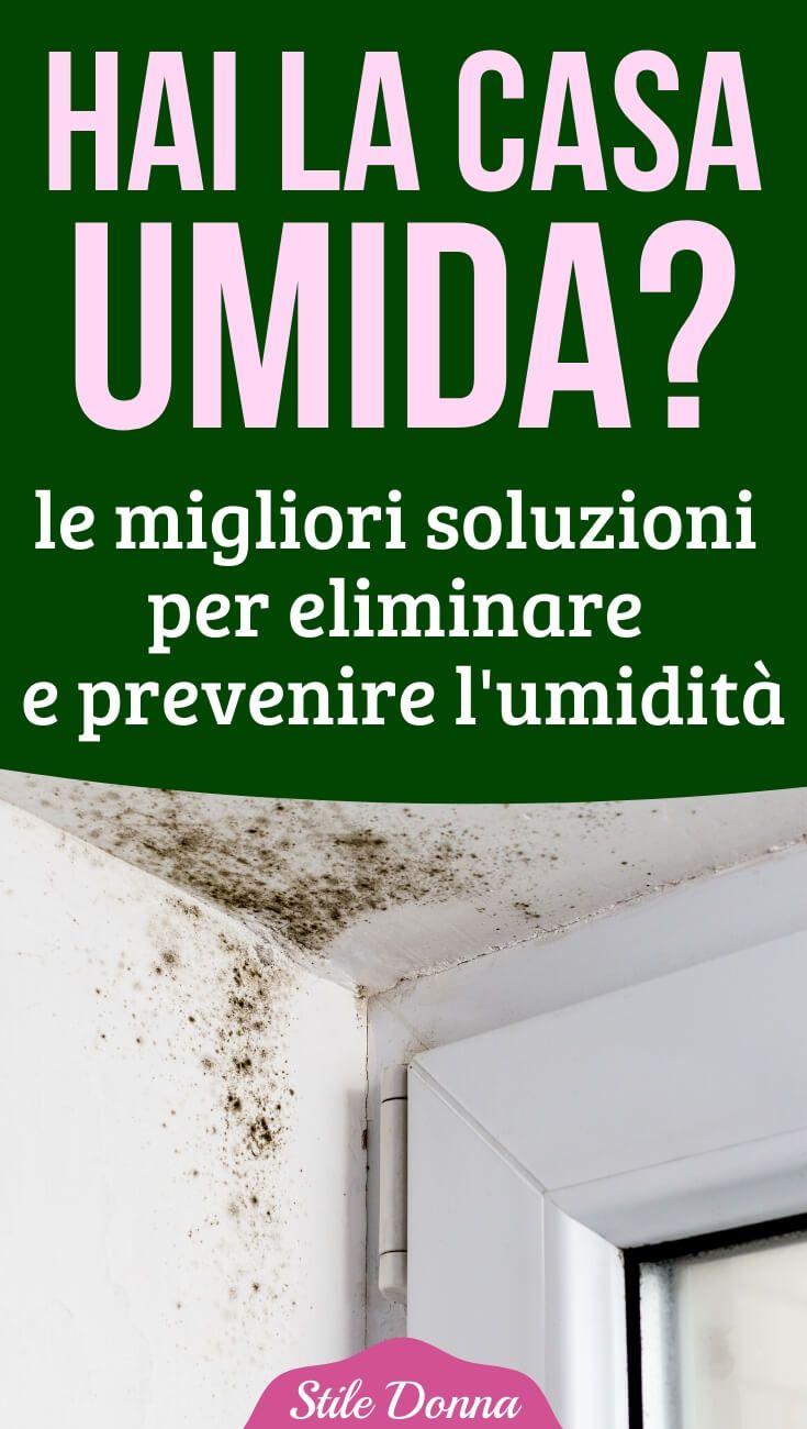 Umidità In Casa Rimedi Della Nonna casa umida: le soluzioni per deumidificarla e prevenire la