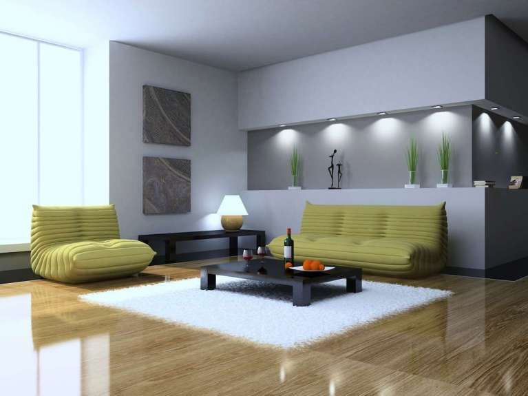 Idee pareti soggiorno in cartongesso cartongesso for Pareti sala in cartongesso
