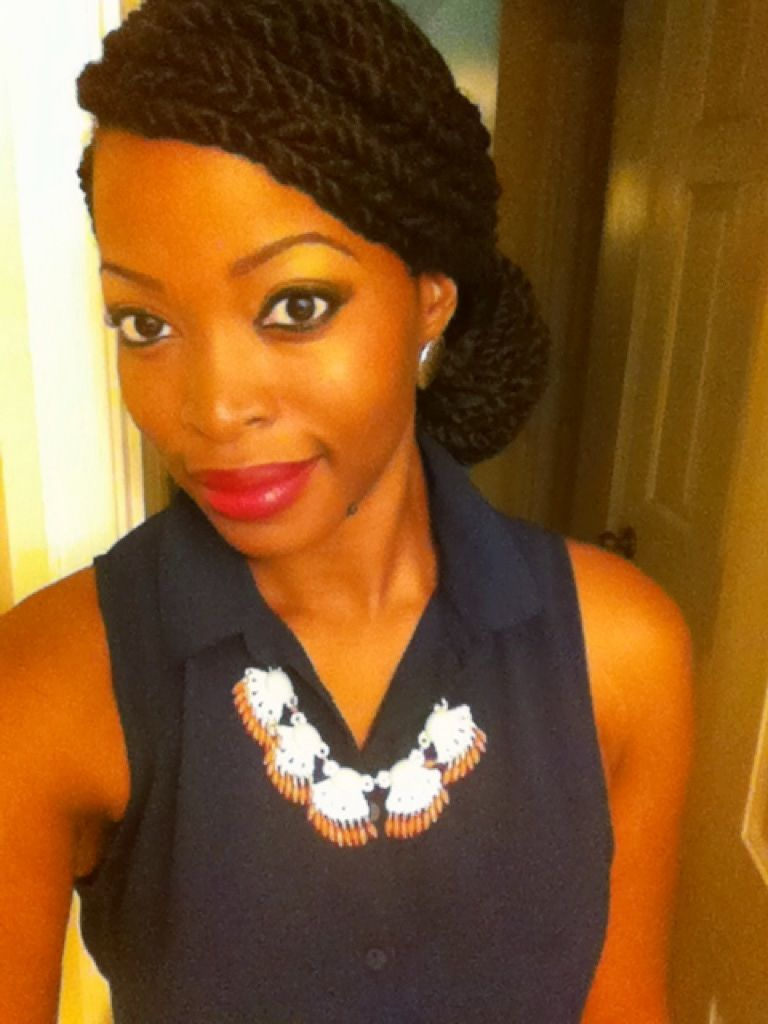 Natural Hair/ Protective Style / YouTube @msnaturallymary