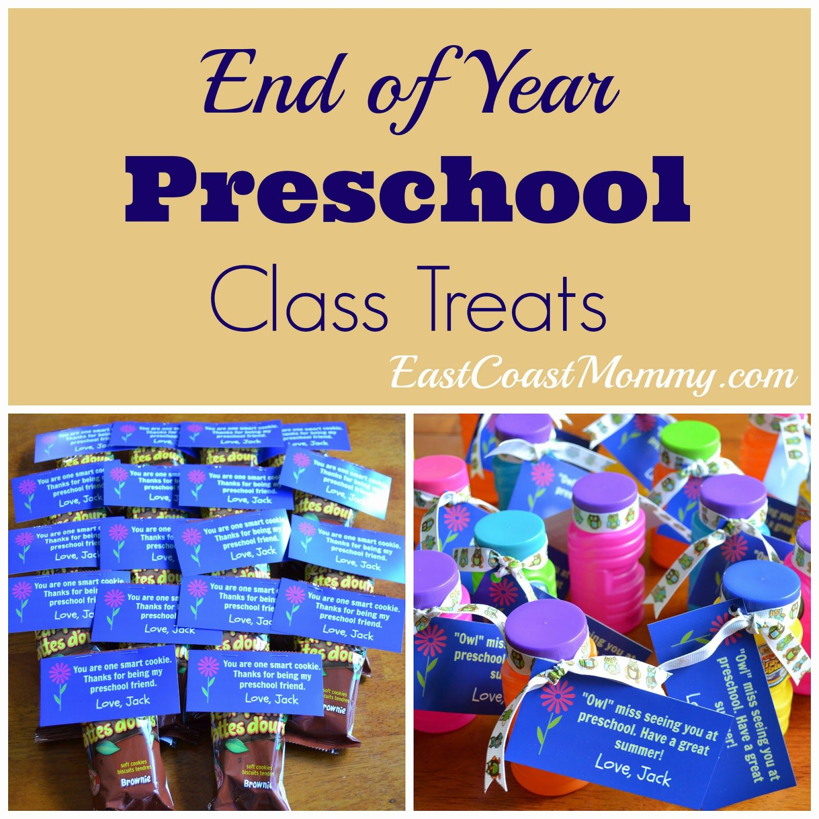 Simple Preschool Class Treats Preschool Class Pre K