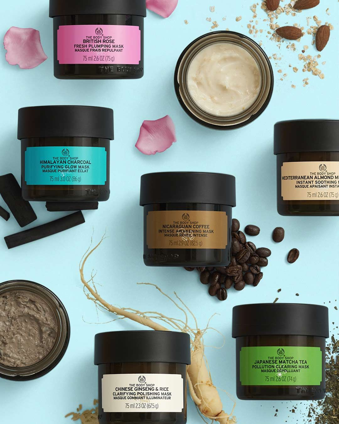 Nicaraguan Coffee Intense Awakening Mask In 2020 Body Shop Skincare The Body Shop Body Shop At Home