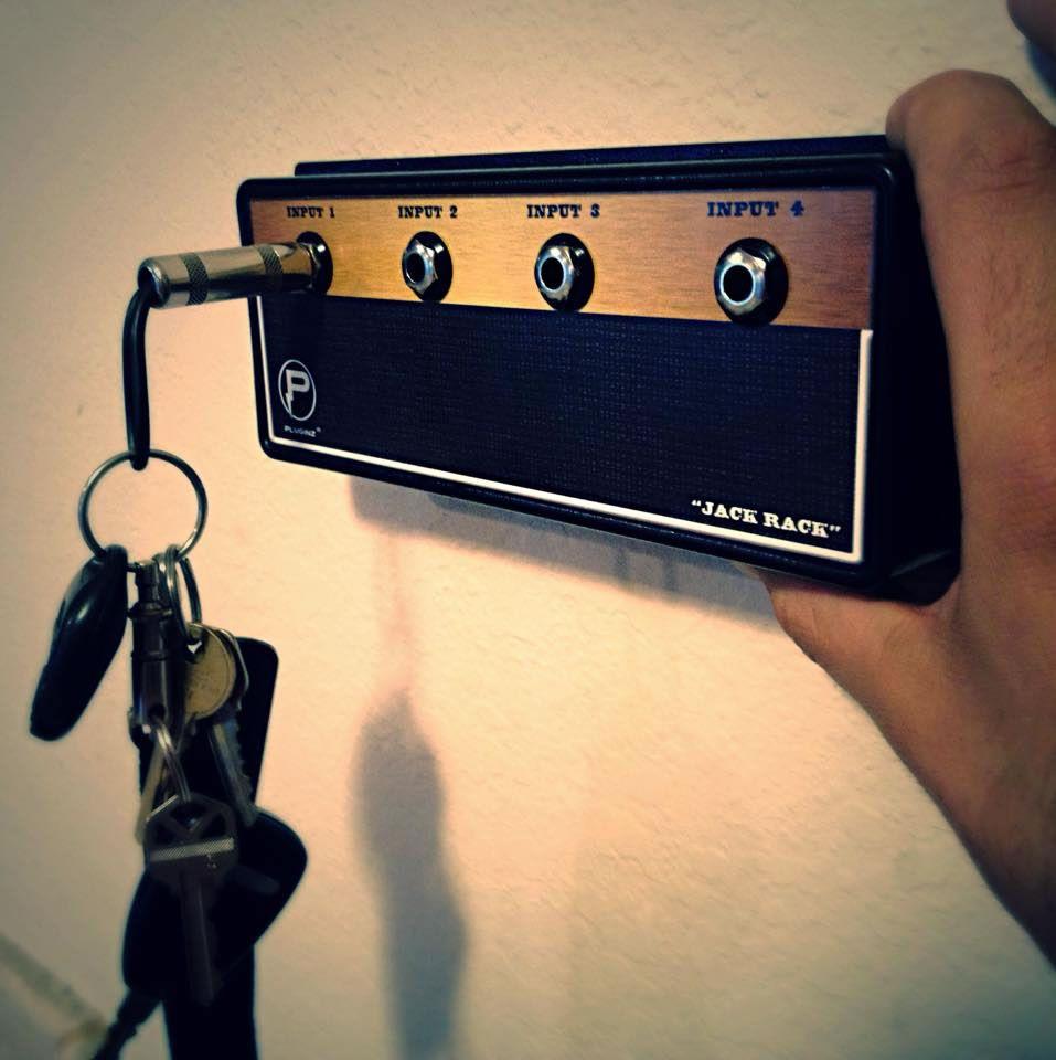 Guitar Amp Key Holder Guarantees Your Keys Have Taken Their Last ...