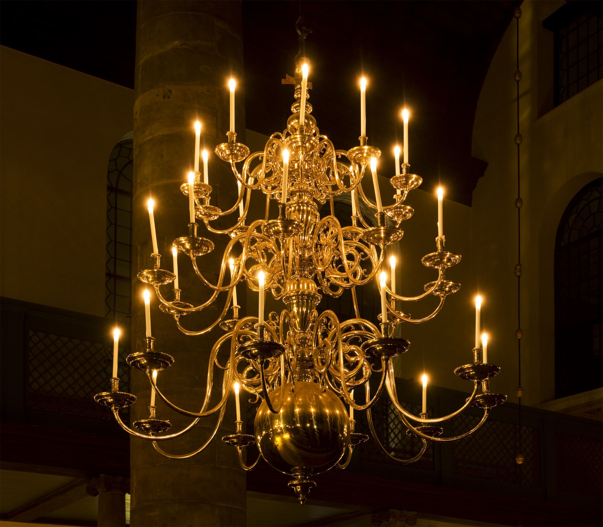 chandelier - Candle Chandelier