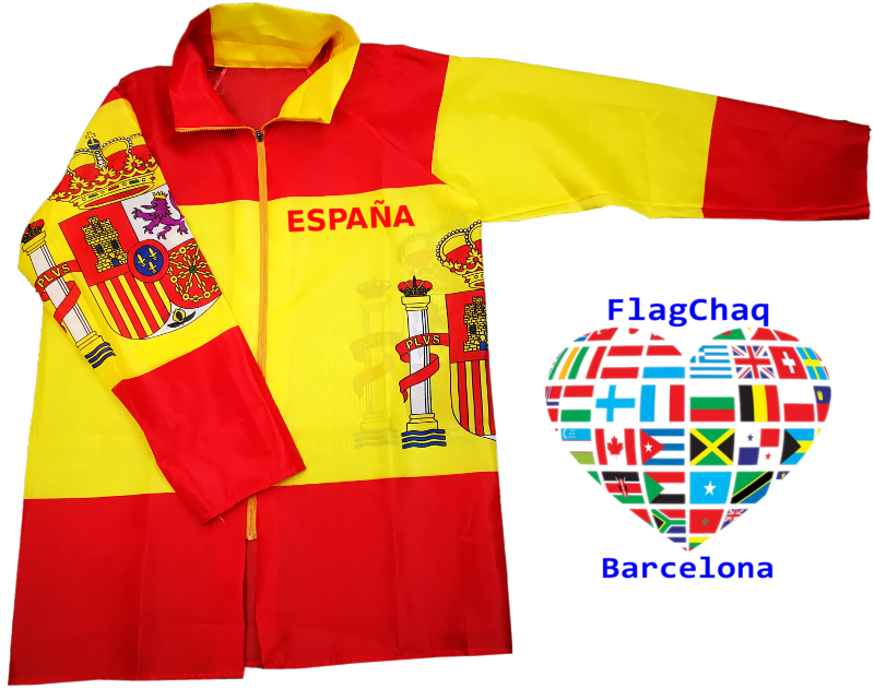 Chaqueta De La Bandera Espana Mujer Hombre Talla Unica Copa Mundial De La Fifa Rusia