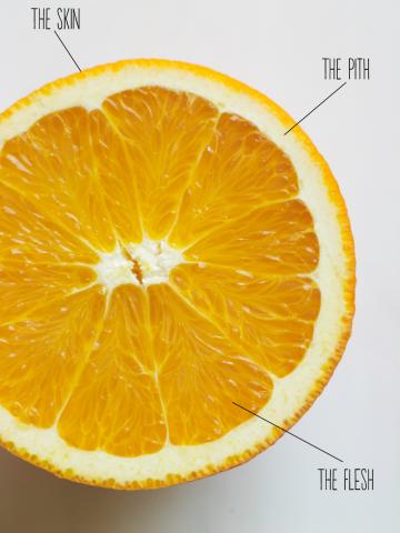 Simple Springtime Dishes Citrus Pinterest Fruit Dishes And Lemon