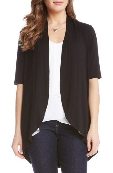 Need a short sleeve or 3/4 sleeve drape cardigan for work ...