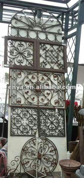 Pin by zaynab msuya on home - Rejas de forja antiguas ...