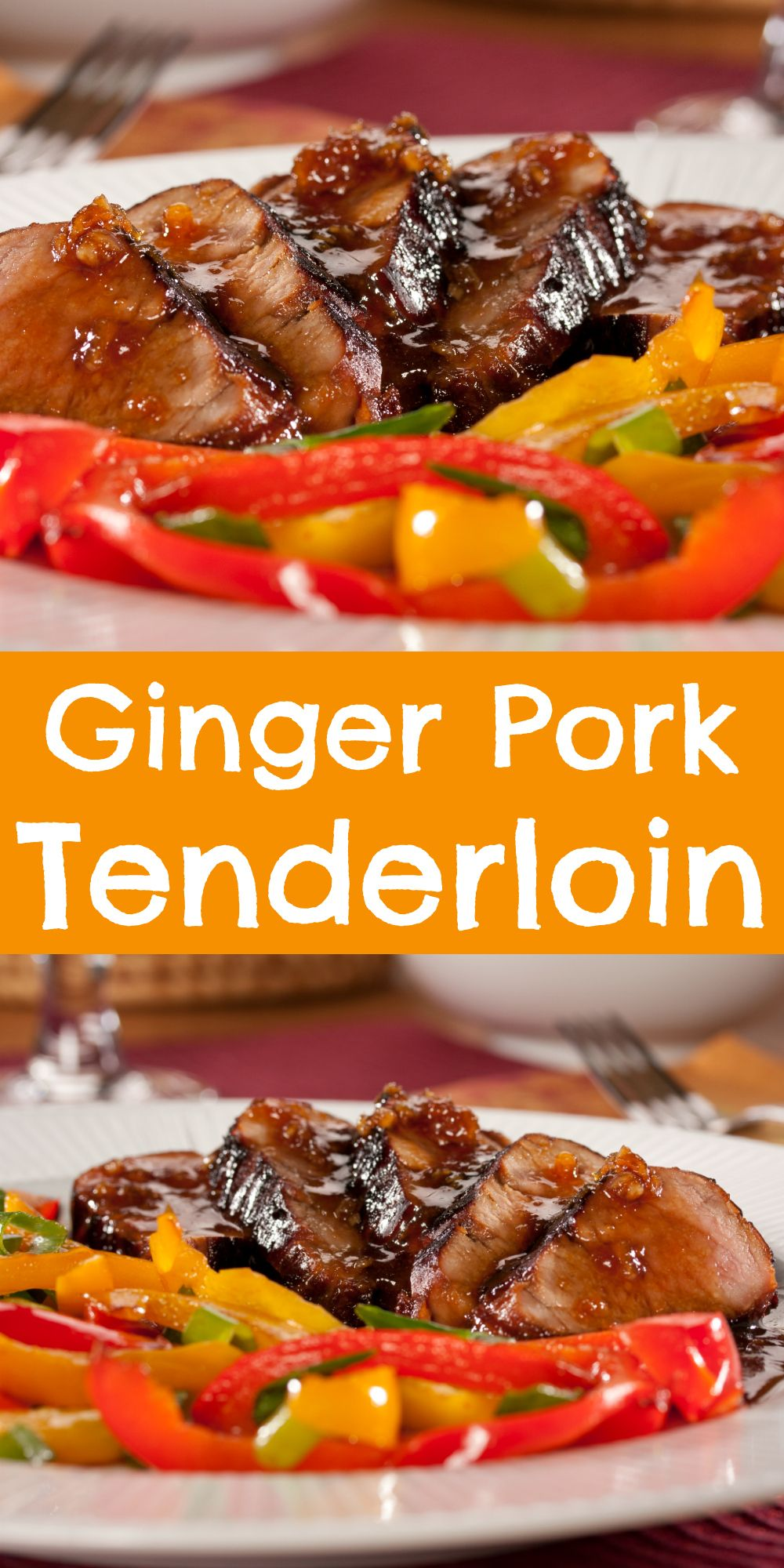 Ginger Pork Tenderloin Recipe Healthy pork tenderloin