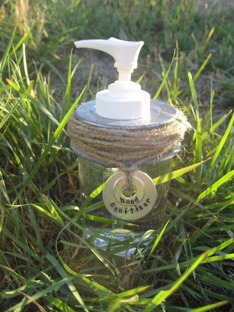 Girl in Air BLOG: Mason Jar Soap/Lotion Dispenser Tutorial