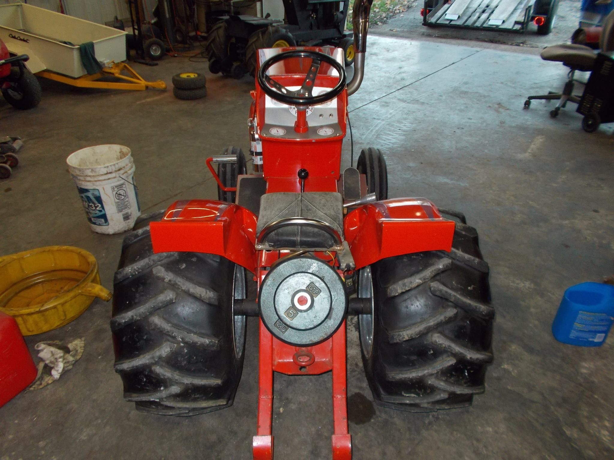 Sears Small Tractors : How about this awsome sears suburban garden tractor custom