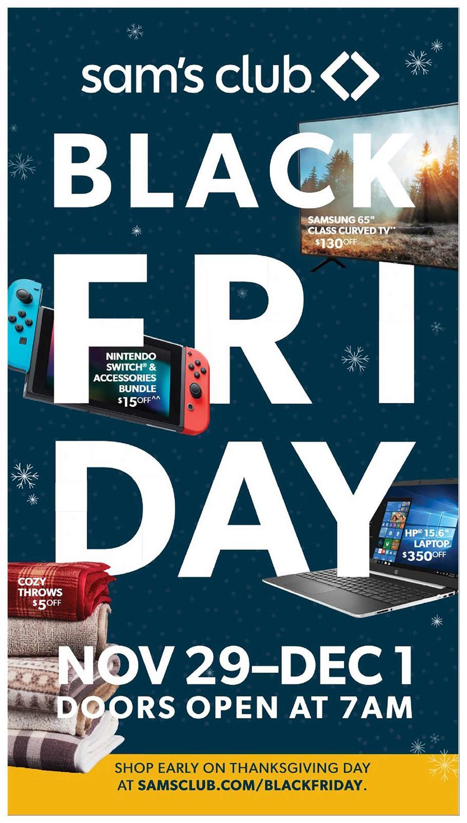 Sam S Club 2020 Black Friday Ad Black Friday Ads Sams Club Black Friday