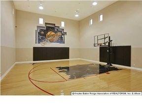 Personal Indoor Basketball Court Indoor Basketball Court Indoor Basketball Baton Rouge