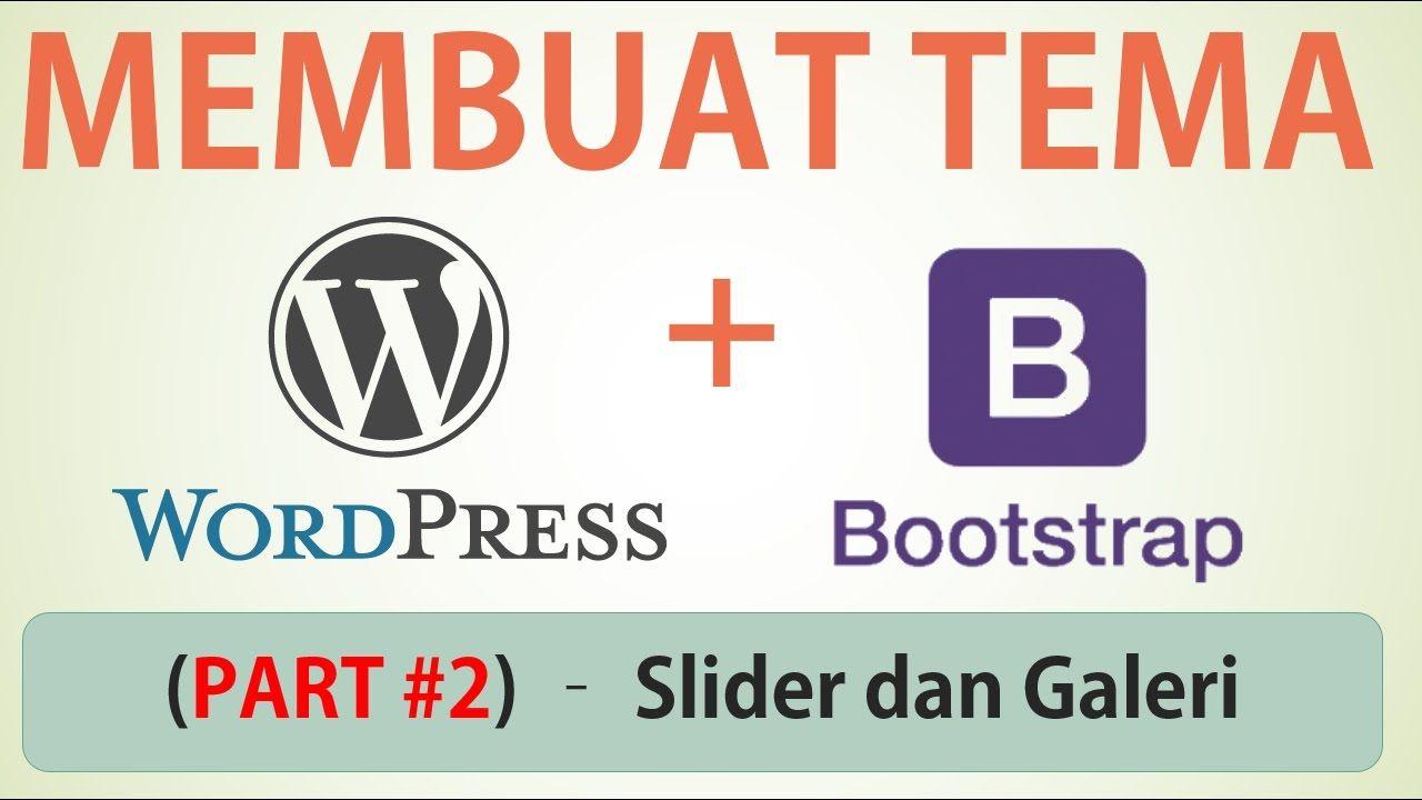 Membuat Tema Wordpress dengan Bootstrap Part #1 (Desain Web Index.html -...