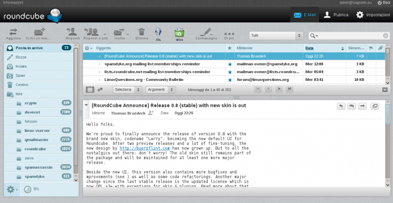 Roundcube Webmail Review Is It a Good SelfHosted Gmail