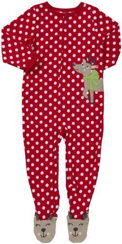 Carter's Baby Boys 1-piece Microfleece Christmas Pajamas (12M-24M ...