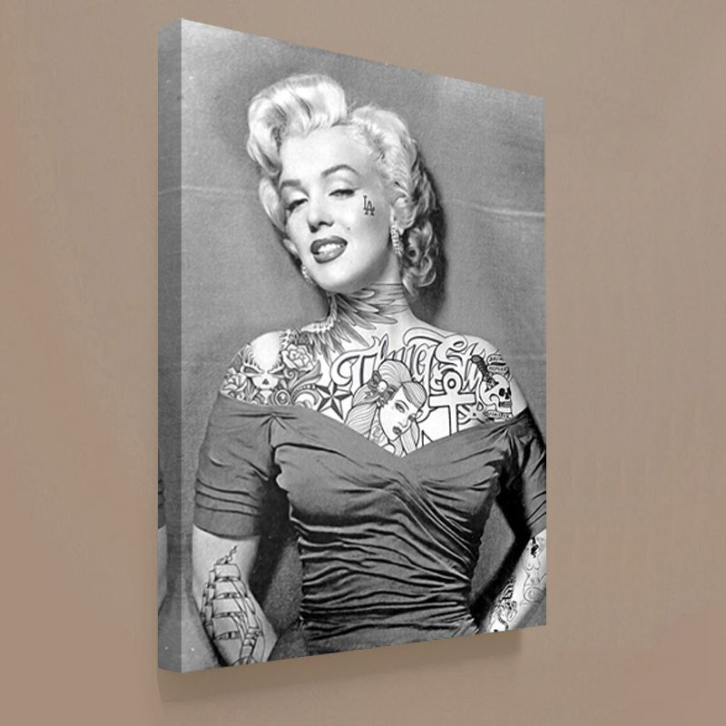 Modern Art Marilyn Monroe Print On Canvas Painting Wall Pictures For Living Room Cuadros Decoration 2017 No Frame
