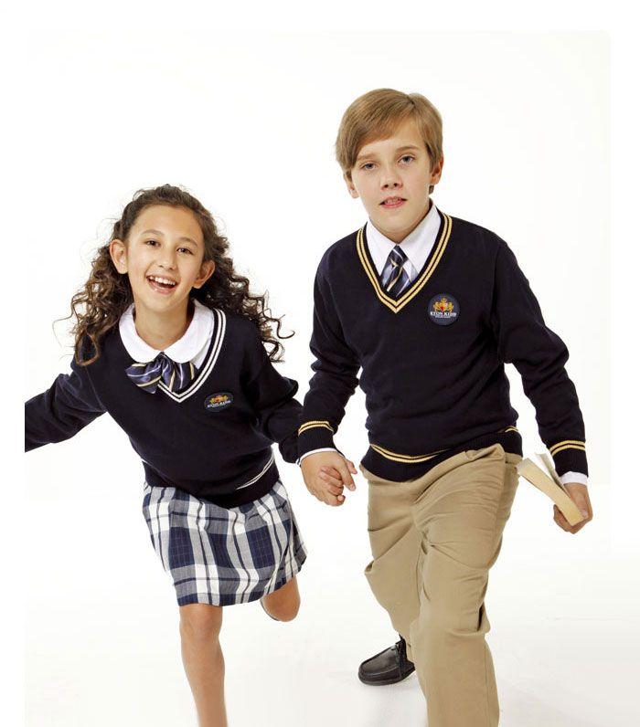 Boys and girls school uniform/American school uniform ...